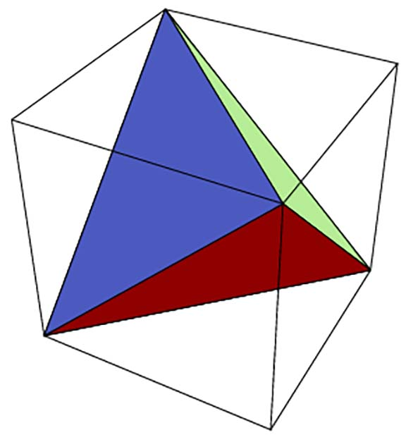 Cube with Tetrahedron